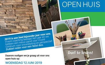 OPEN HUIS 12 JUNI 2019